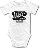 LJIEAHD Luke's Diner Stars Hollow Kids Boys Girls Baby Bodysuit Baby Onesie Newborn Clothes