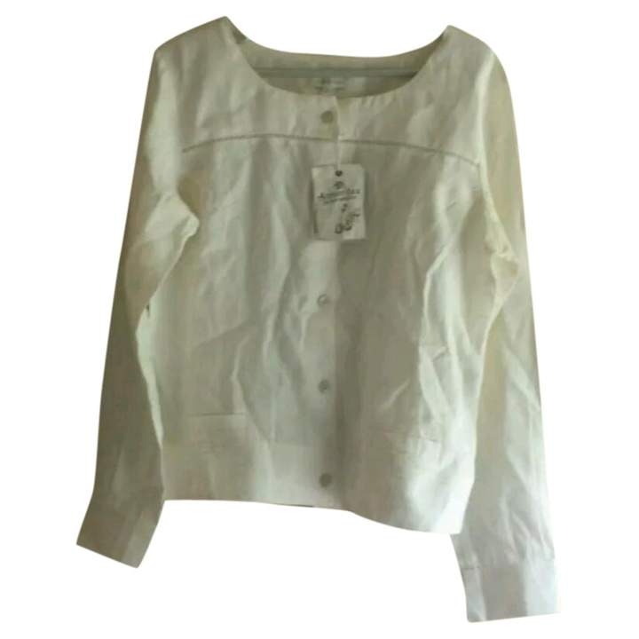 Armor Lux Armor-lux Beige Linen Jacket for Women