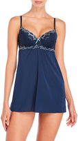 Rene Rofe Lightly Padded Lace Cup Chemise