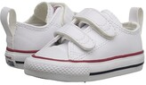 Converse Ctas 2V (Infant/Toddler) (White) Kid's Shoes