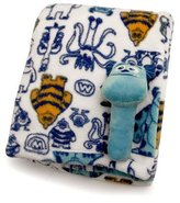 Kids Line Disney Baby Monsters, Inc. Sulley Printed Blanket and Stick Rattle Set