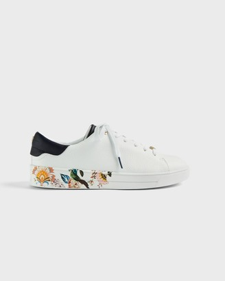 Ted Baker Decadence Printed Cupsole Trainer