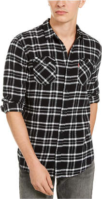 Levi's Men Stoney Regular-Fit Plaid Flannel Shirt