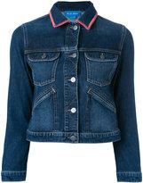 MiH Jeans Stockholm customised denim jacket by Amanda Norgaard