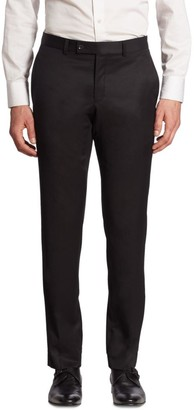 Saks Fifth Avenue MODERN Basic Ford Wool Pants