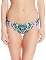 Jessica Simpson Women's Venice Beach Hipster Bikini Bottom