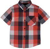 Hurley Boys 4-7 Woven Plaid Button-Down Shirt