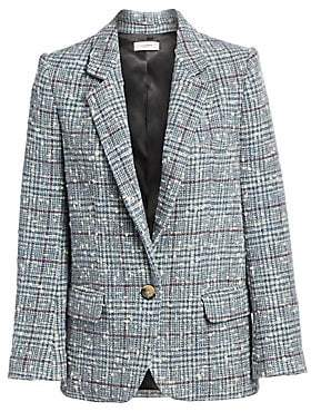 Etoile Isabel Marant Women's Kice Plaid Wool-Blend Blazer