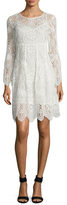 Trina Turk Lyn Lace Fit And Flare Dress