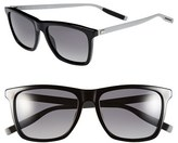 Christian Dior Men's '177S' 55Mm Polarized Sunglasses - Black