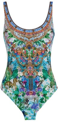 Camilla Moon Garden Reversible Swimsuit