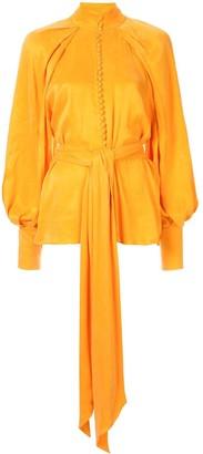Acler Portland balloon-sleeve blouse
