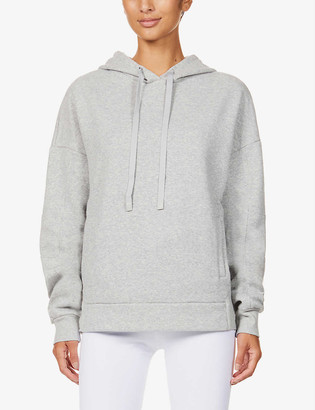 Alo Yoga Interval branded cotton-blend hoody