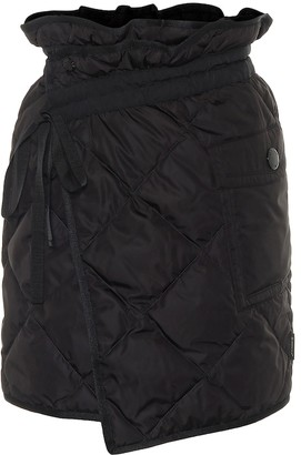 Moncler Quilted down miniskirt