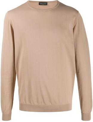 Roberto Collina Crew-Neck Cotton Pullover