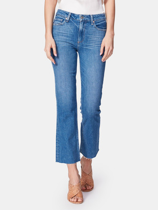 Paige Colette High Rise Crop Flare Jeans