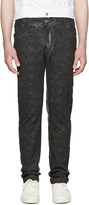 Telfar Black Embroidered Simplex Jeans