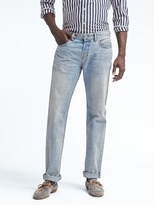 Banana Republic Straight Light Wash White Oak® Selvedge Jean