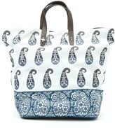 Fay Shopper In Nylon Stampa Paisley