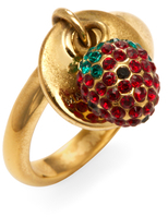 Marc Jacobs Strawberry Coin Trend Ring