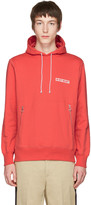 Tim Coppens Red in My Heart Wave Hoodie