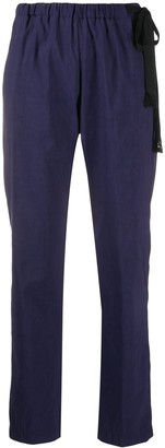 Forte Forte Drawstring-Waist Tapered Trousers