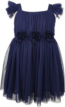Popatu Flutter Sleeve Princess Dress