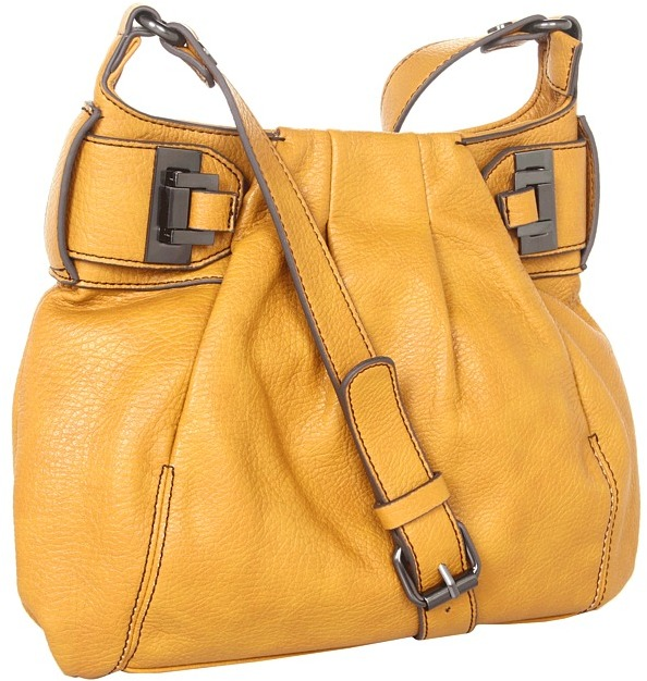 Jessica Simpson Lady Chic Crossbody (Saffron) - Bags and Luggage