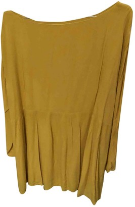 American Vintage Yellow Dress for Women