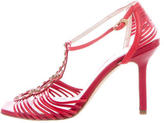 Christian Dior Allegria Multistrap Sandals