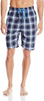 Perry Ellis Men's Classic Plaid Woven Sleep Short