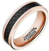 AmDxD Jewelry Free Engraving Rings for Men Round Wedding Bands Size 13