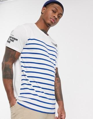G Star G-Star graphic t-shirt-Blue