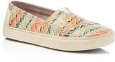 Toms Women's Avalon Woven Slip On Sneakers