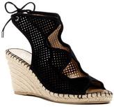Franco Sarto Nash Perforated Wedge Sandal