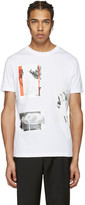 McQ by Alexander McQueen White Graphic T-Shirt