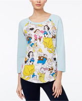 Mighty Fine Juniors' Disney Snow White Graphic Top