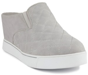 Sugar Women's Kallie Slip-On Quilted Wedge Sneakers Women's Shoes