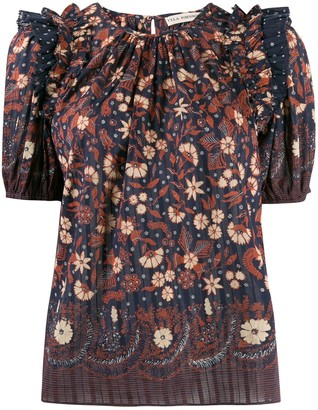 Ulla Johnson Arbor floral-print top