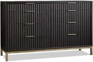 Apt2B Westmont Dresser BLACK/BRUSHED STEEL