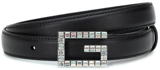 Gucci Square G leather belt