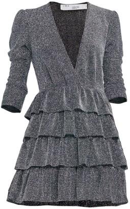 IRO Revert Ruffled Deep-V Dress