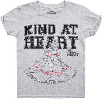 Disney Girls' Kind at Heart Long Sleeve Top