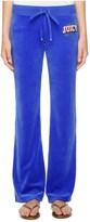 Juicy Couture Jc Varsity Velour Bootcut Pant