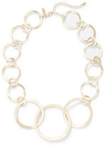 New York & Co. Circular Link Statement Necklace