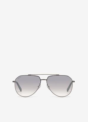 Bally Palm Aviator Sunglasses