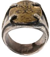 Tobias Wistisen 'Twin Heart' ring