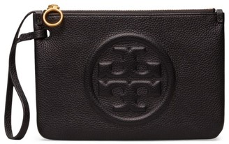 Tory Burch Perry Bombe Leather Wristlet