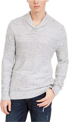 American Rag Men Multi-Textured Shawl-Collar Sweater