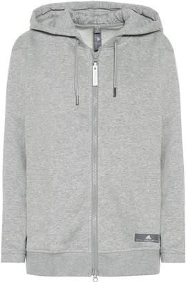 adidas by Stella McCartney Cotton-blend hoodie